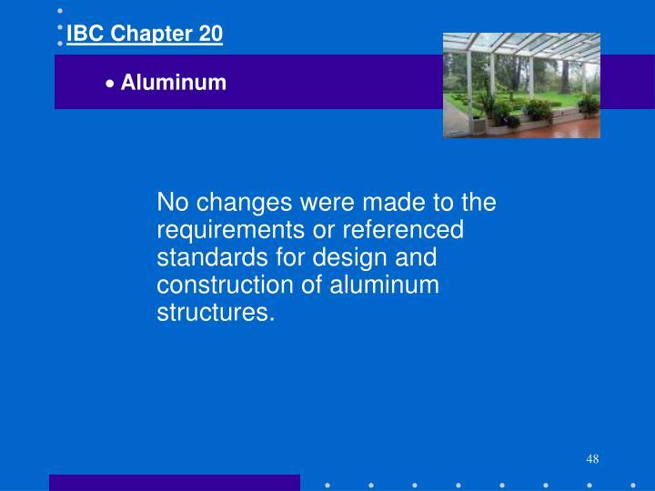 IBC Chapter 20