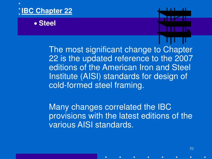 IBC Chapter 22