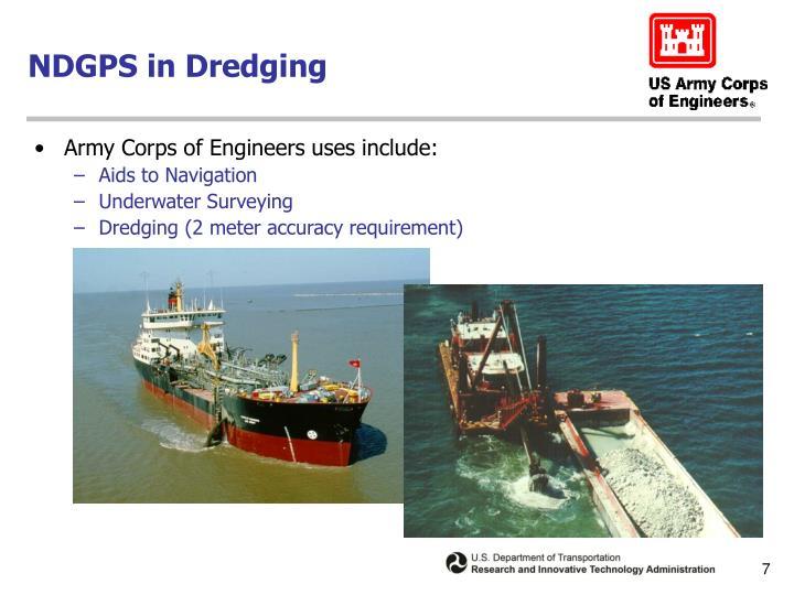 NDGPS in Dredging