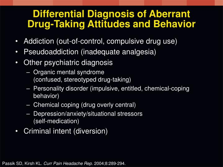 Differential Diagnosis of Aberrant
