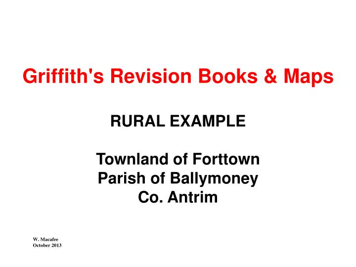 Griffith's Revision Books & Maps