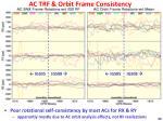 ac trf orbit frame consistency