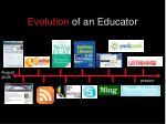 evolution of an educator