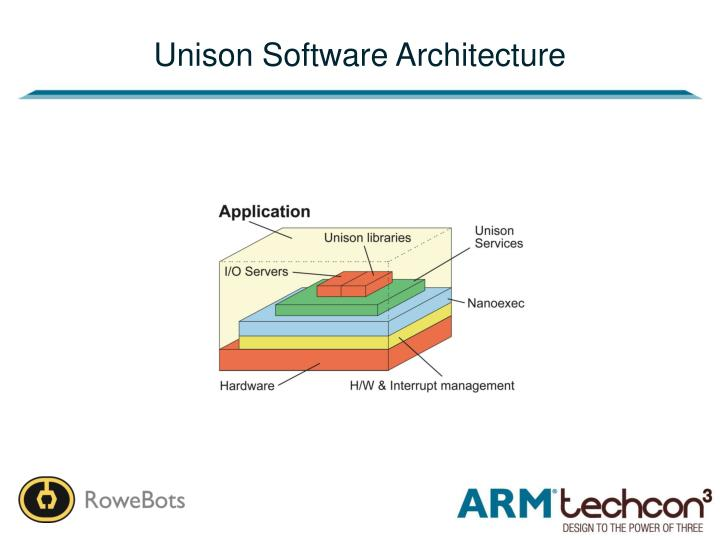 Unison Software Architecture