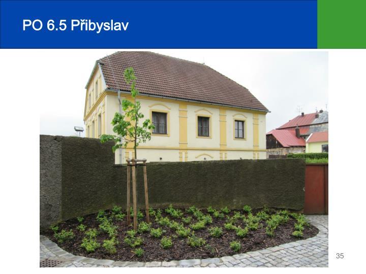 PO 6.5 Přibyslav