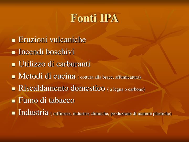 Fonti IPA