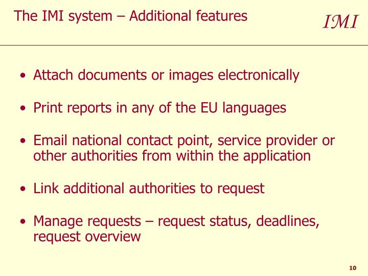 Attach documents or images electronically