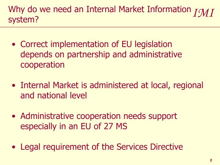 Correct implementation of EU legislation depends on partnership and administrative cooperation