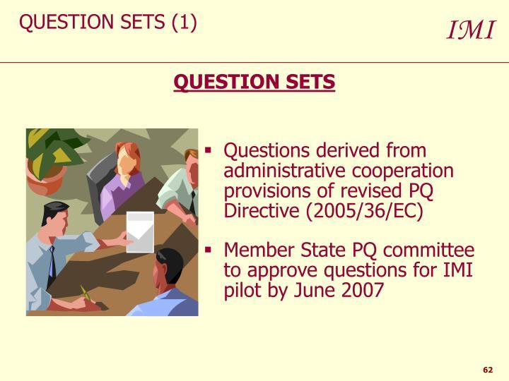 QUESTION SETS (1)