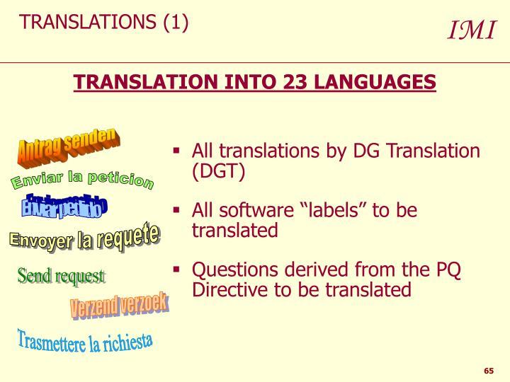 TRANSLATIONS (1)