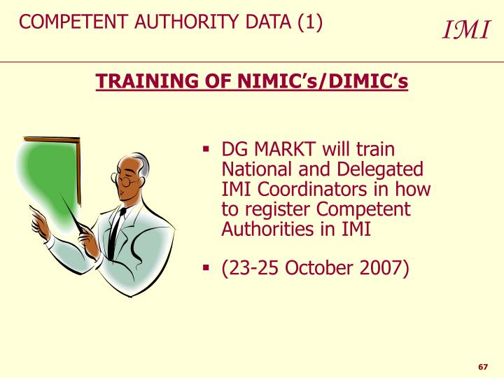 COMPETENT AUTHORITY DATA (1)