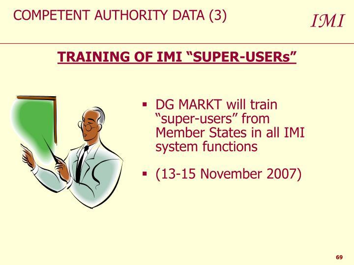 COMPETENT AUTHORITY DATA (3)