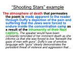 shooting stars example