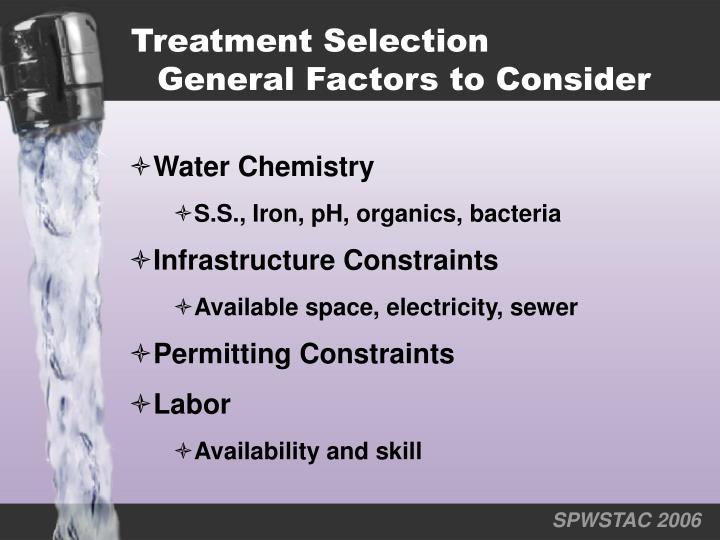 Treatment Selection