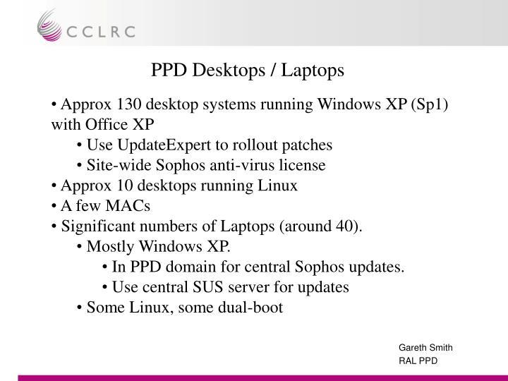 PPD Desktops / Laptops