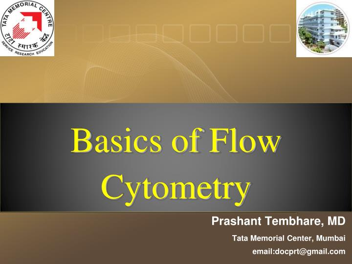 basics of flow cytometry n.