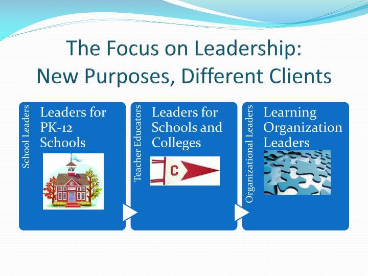 The Focus on Leadership: