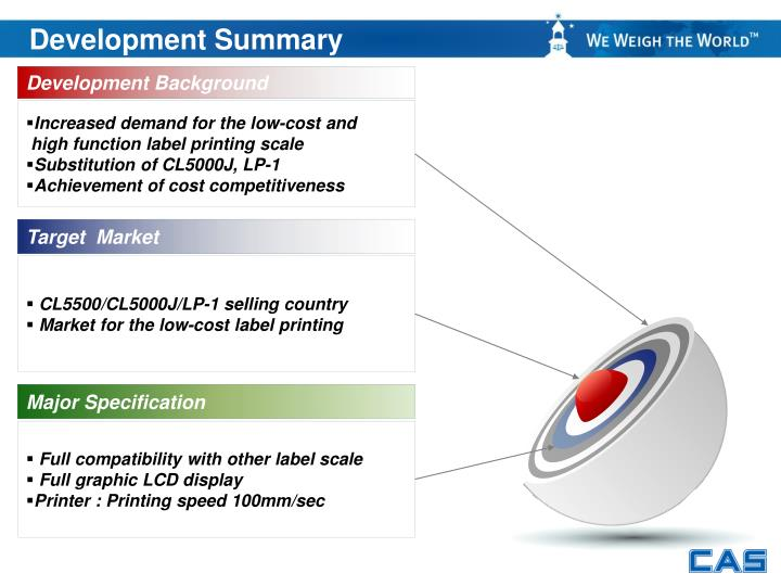 Development Summary