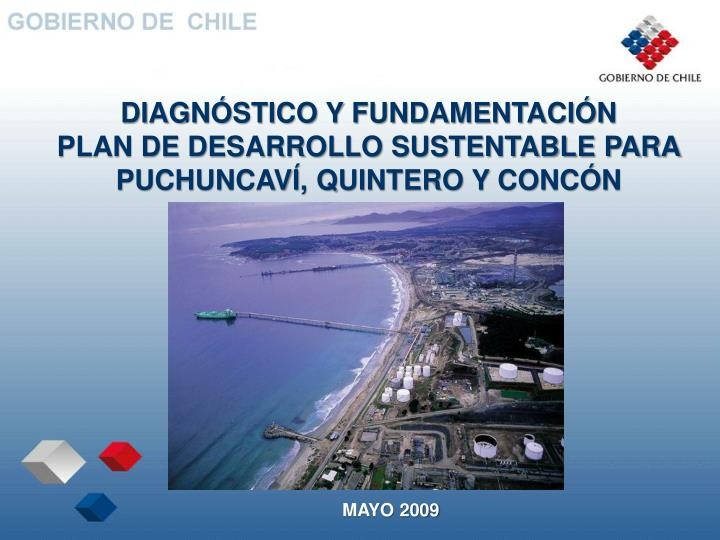 diagn stico y fundamentaci n plan de desarrollo sustentable para puchuncav quintero y conc n n.