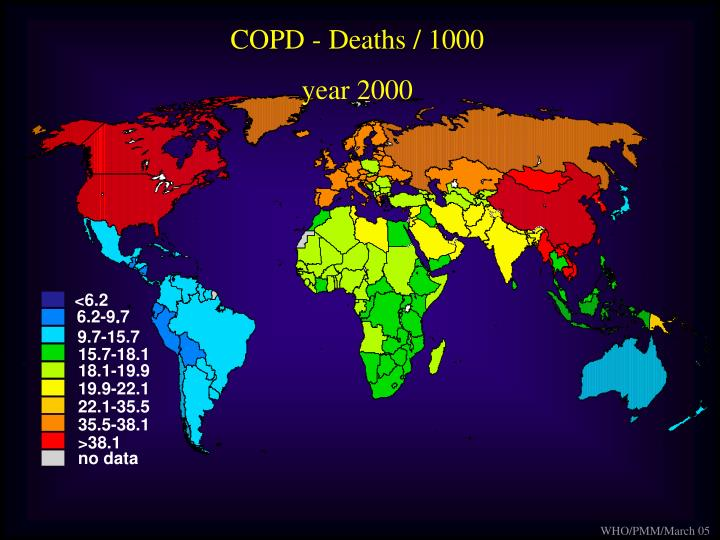 COPD - Deaths / 1000