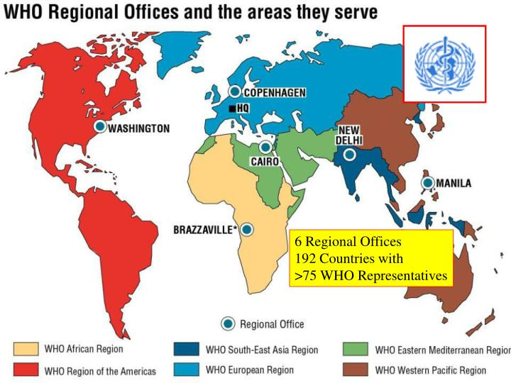 6 Regional Offices