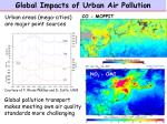 global impacts of urban air pollution