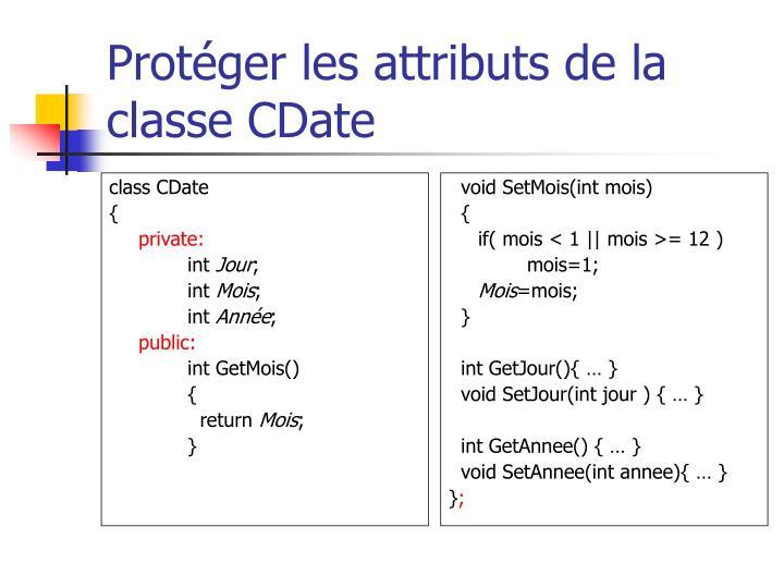 class CDate