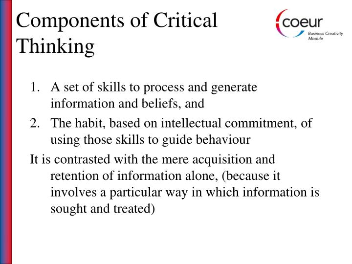 Components of Critical