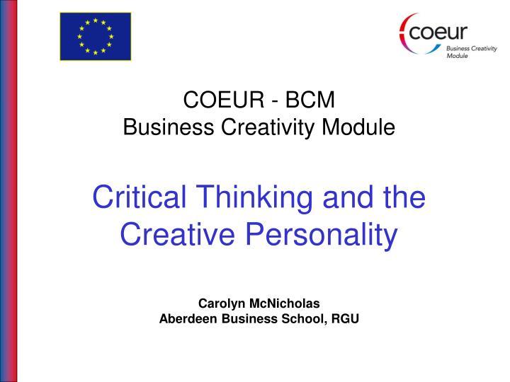 COEUR - BCM
