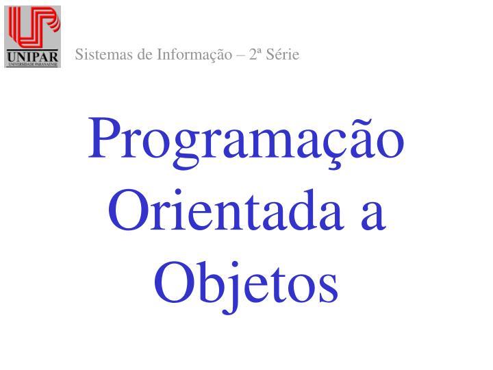 programa o orientada a objetos n.