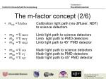 the m factor concept 2 6