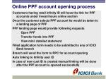 online ppf account opening process
