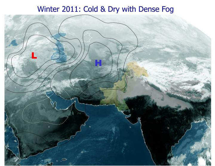Winter 2011: Cold & Dry with Dense Fog