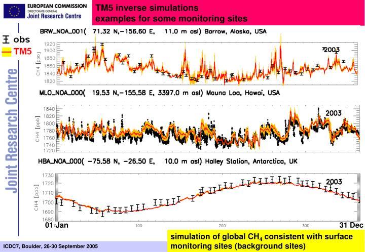 TM5 inverse simulations