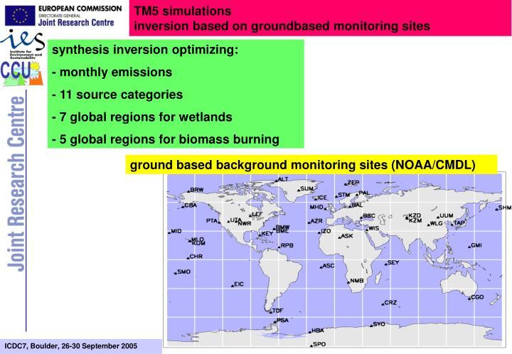 TM5 simulations