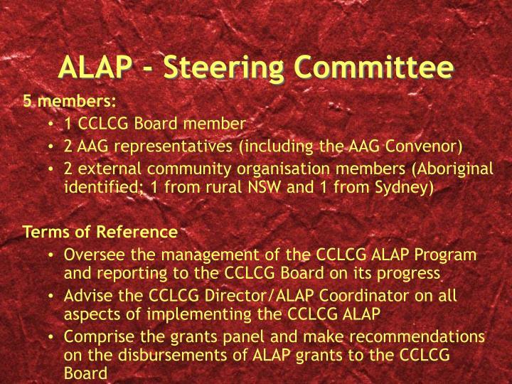 ALAP - Steering Committee
