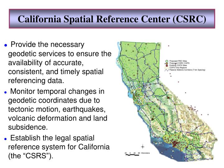 California Spatial Reference Center (CSRC)