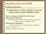 introducci n a la poo polimorfismo