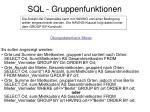 sql gruppenfunktionen2