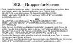 sql gruppenfunktionen3