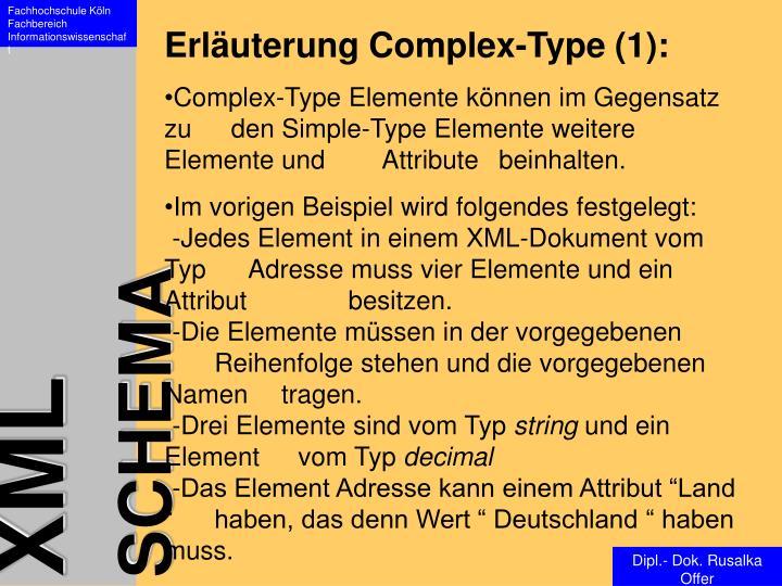Erläuterung Complex-Type (1):