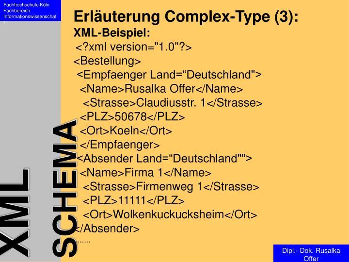Erläuterung Complex-Type (3):