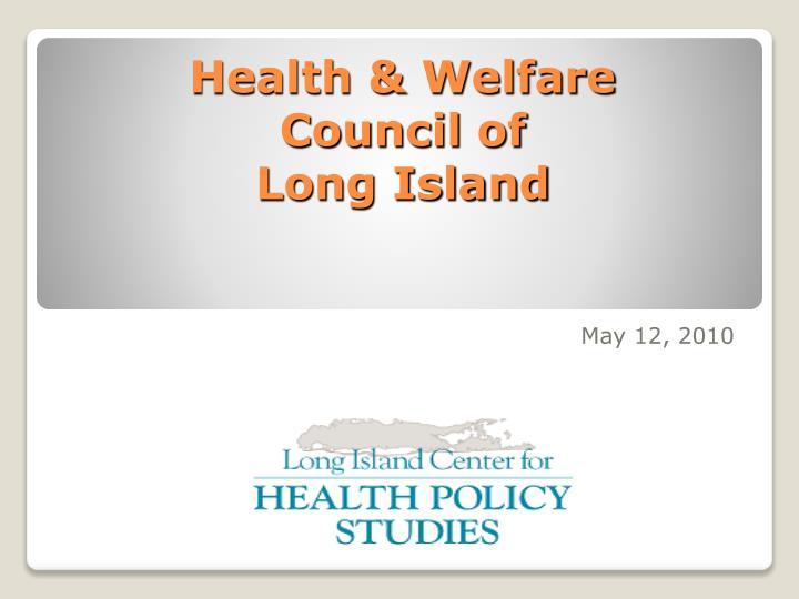 health welfare council of long island n.