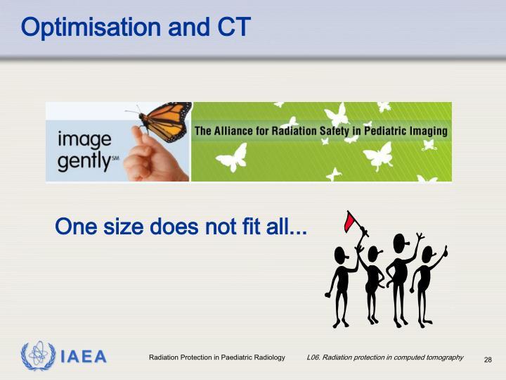 Optimisation and CT