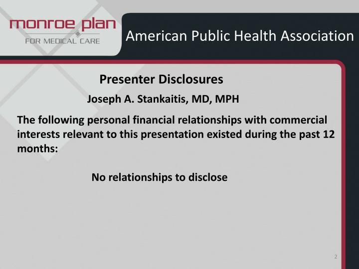 American public health association1