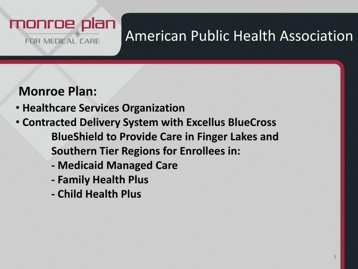 American public health association2