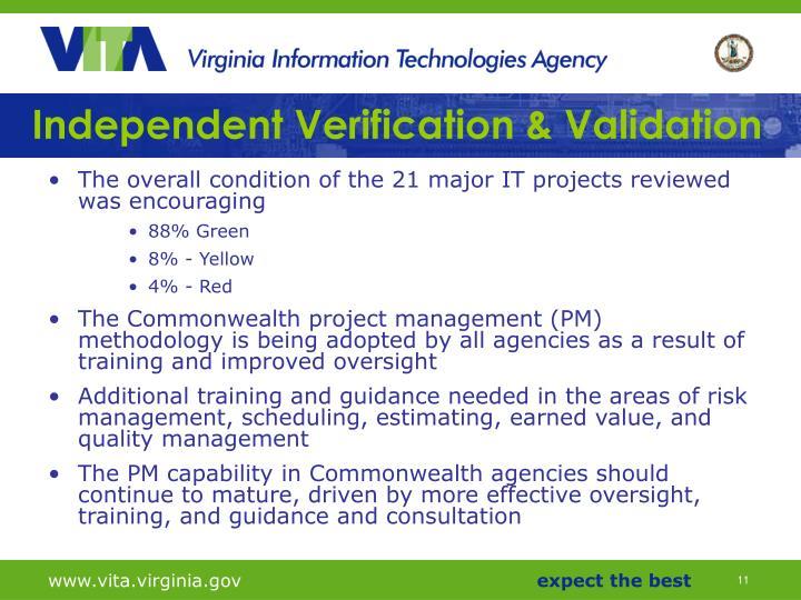 Independent Verification & Validation