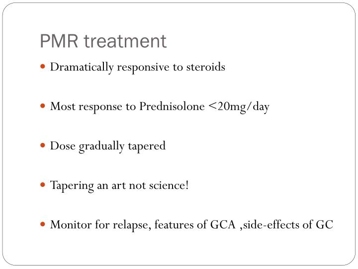 PMR treatment