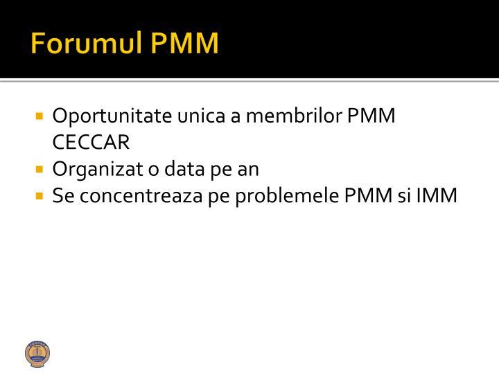 Forumul pmm