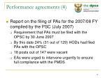performance agreements 4